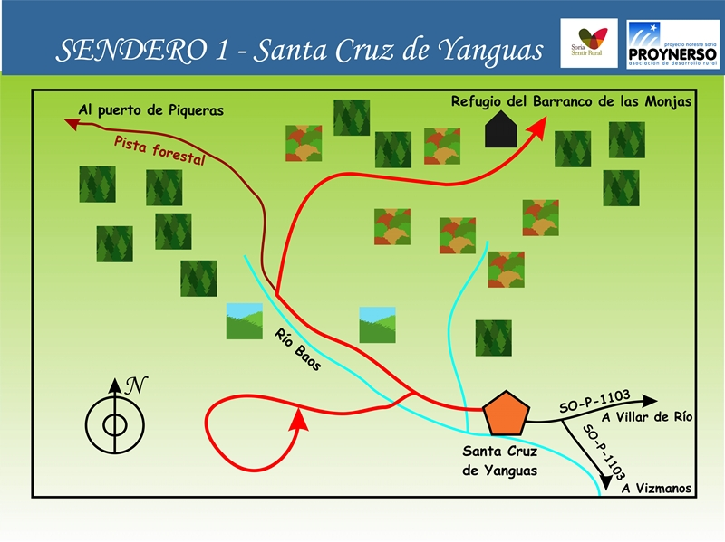 1Santa cruz de yanguas mapa